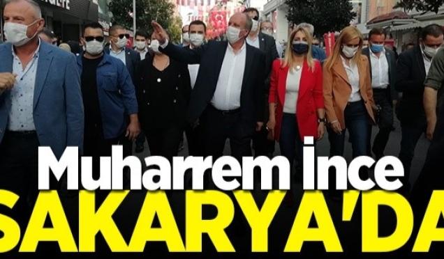 MUHARREM İNCE'YE SAKARYA'YA NEDEN GELDİN MUAMELESİ .